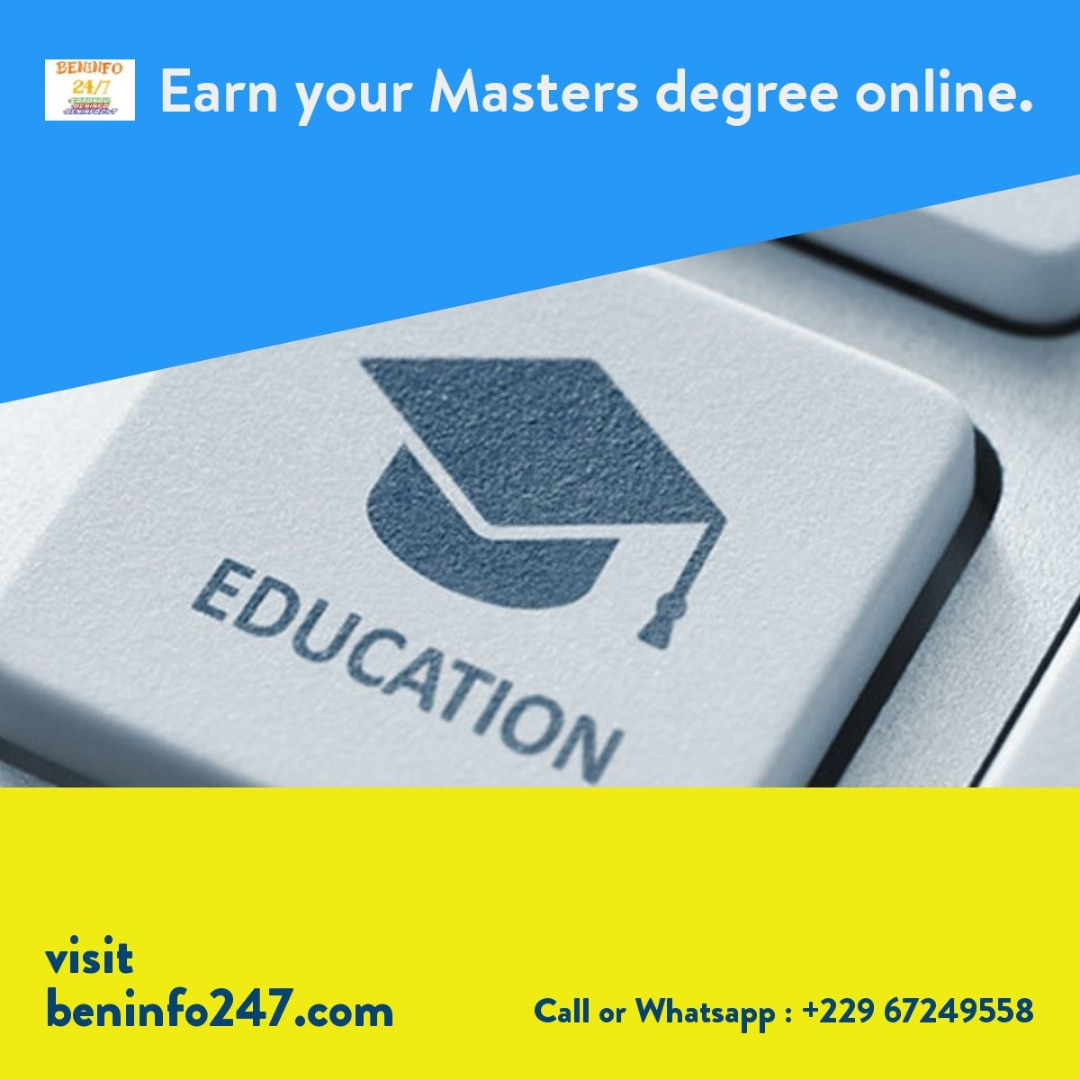 Earn Your Masters Degree Online