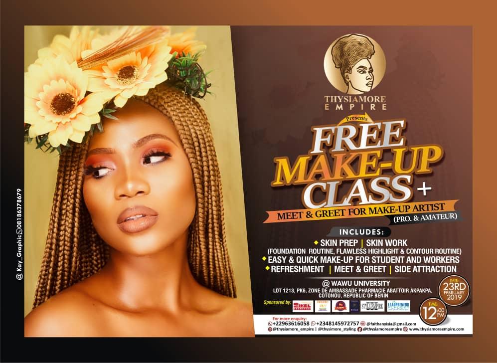 free make-up artist