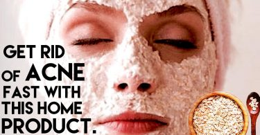 GET RID OF ACNE AND SKIN PROBLEMS USING OATMEAL.
