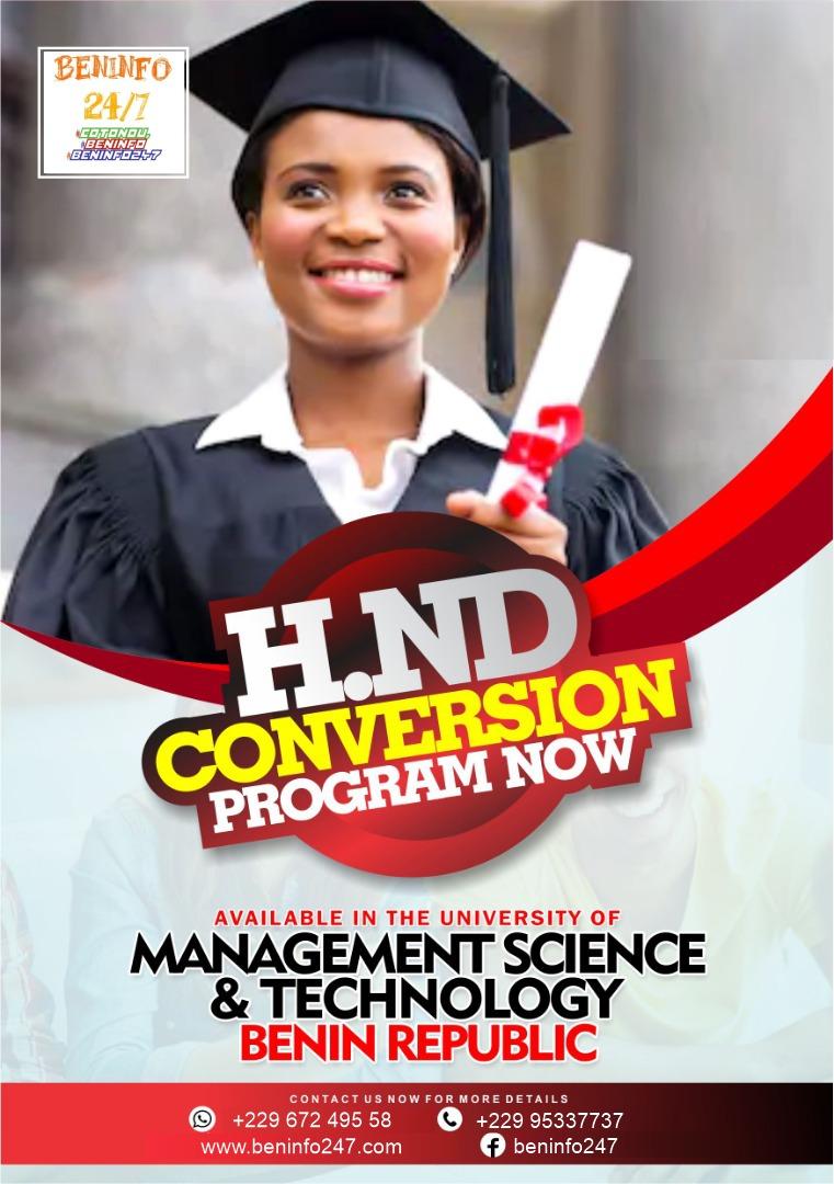 hnd conversion program