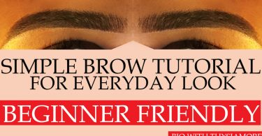how to fill in the brows