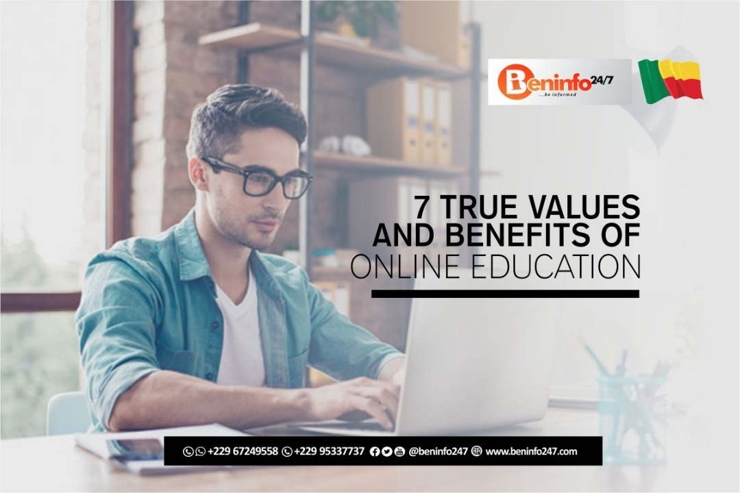 Value and benefits of online eucation