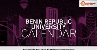 Benin Republic University Calendar